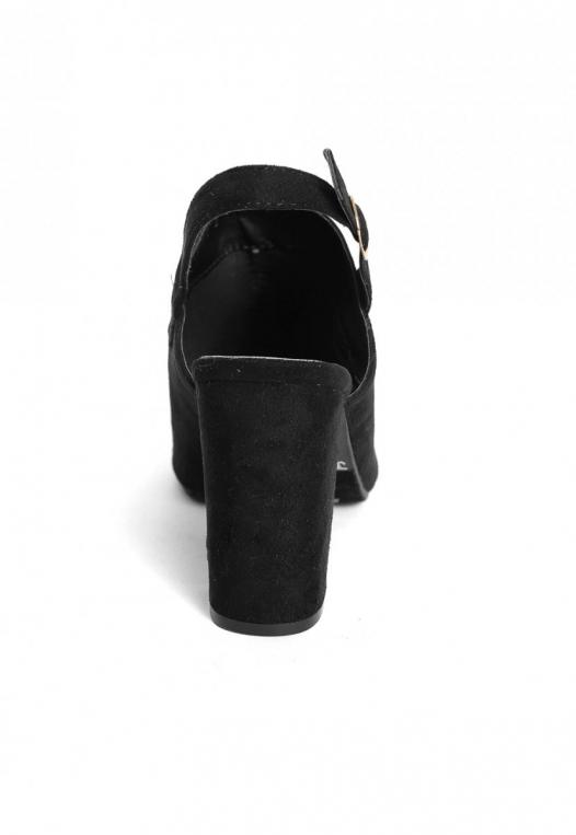 Sparrow Slingback Booties in Black alternate img #2