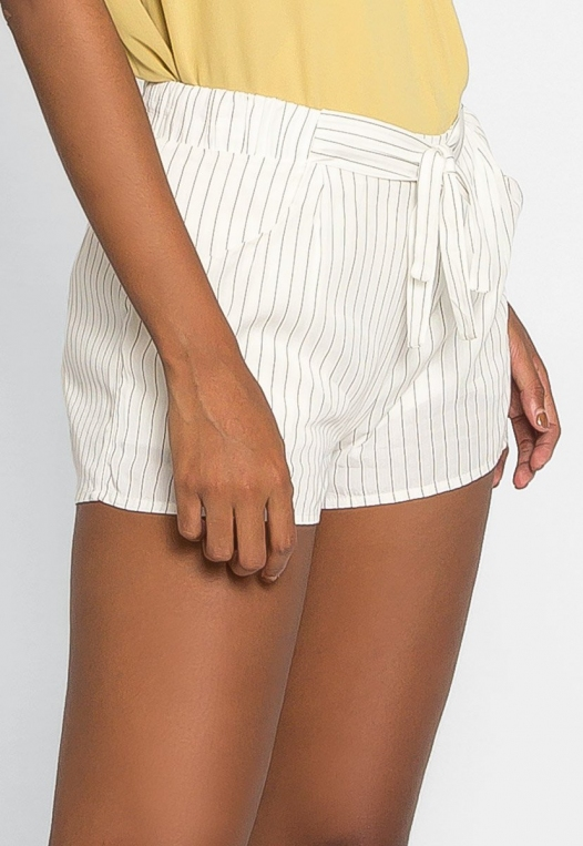 Morning Rise Stripe Shorts alternate img #4