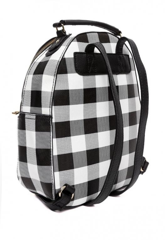 Gingham Mini Backpack alternate img #3