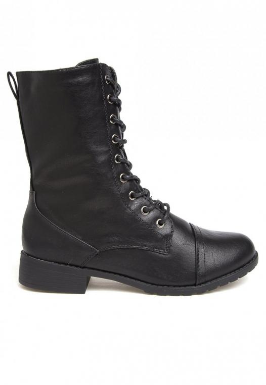 Beatriz Combat Boots alternate img #1