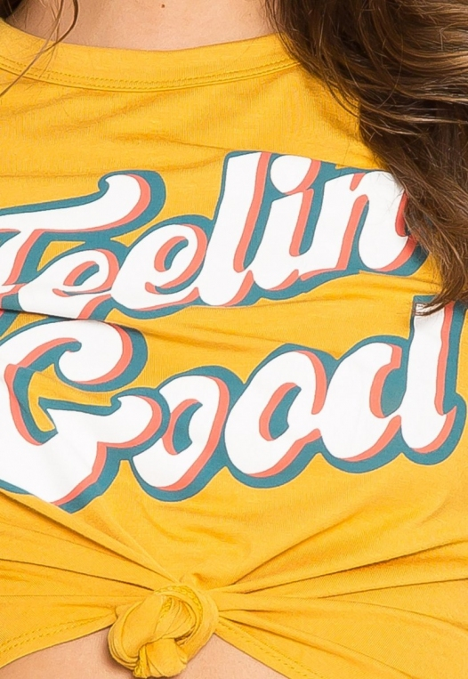 Feelin' Good Retro Graphic Tee alternate img #6