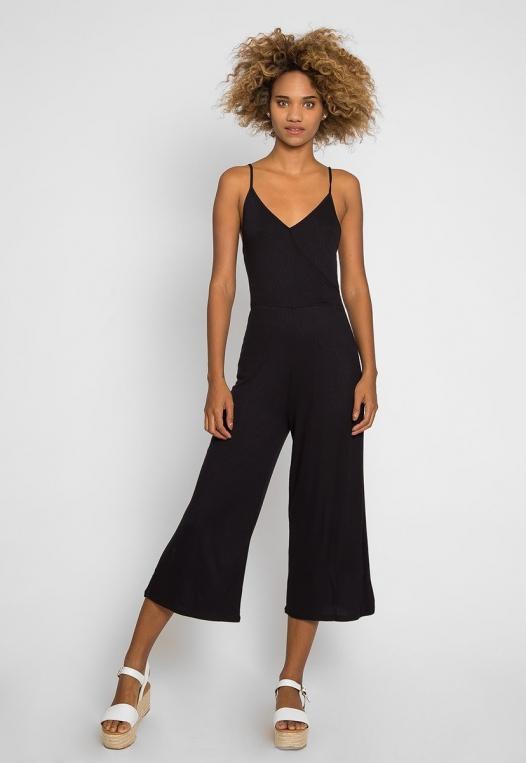 Visor Wide Leg Sleeveless Jumpsuit alternate img #4
