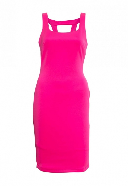 Newport Bodycon Dress in Pink alternate img #7