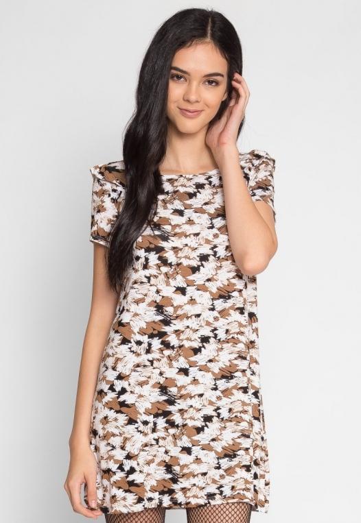 Art District Printed Tunic Dress alternate img #1