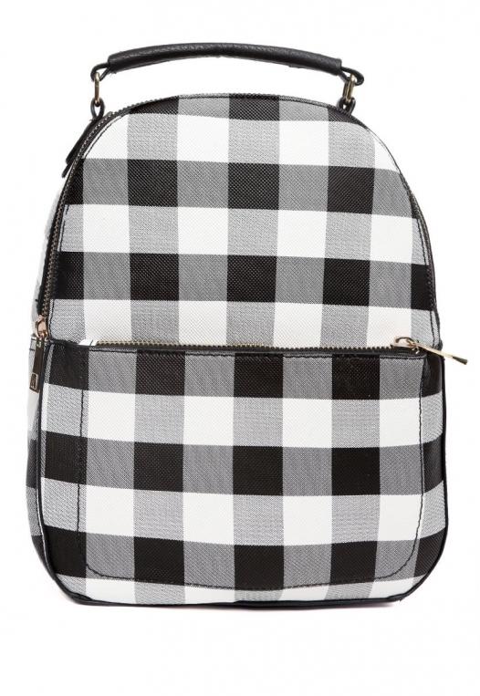 Gingham Mini Backpack alternate img #1