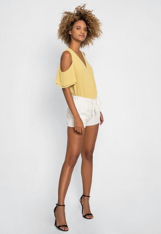 Morning Rise Stripe Shorts alternate img #5