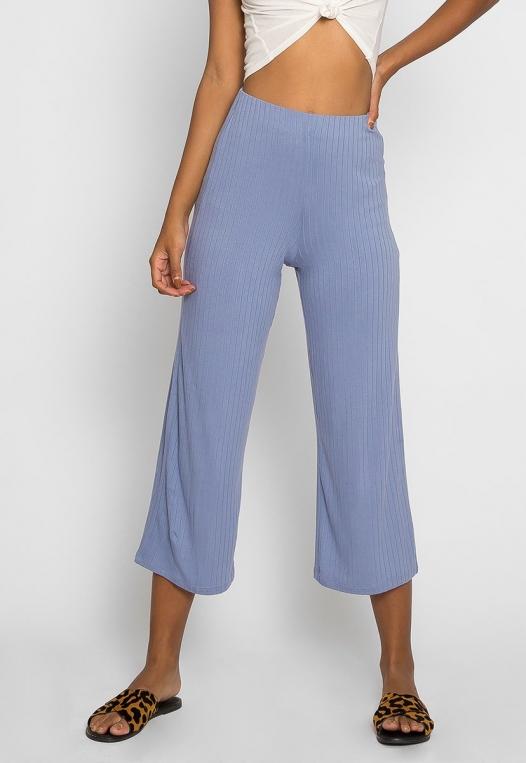 Day In Knit Pants in Light Blue alternate img #1