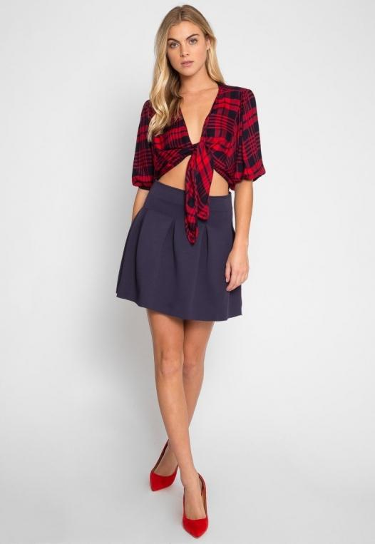 Queensborough Pleated Skirt alternate img #4