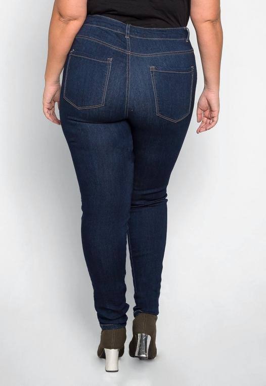 Plus Size Sagittarius Skinny Jeans alternate img #2