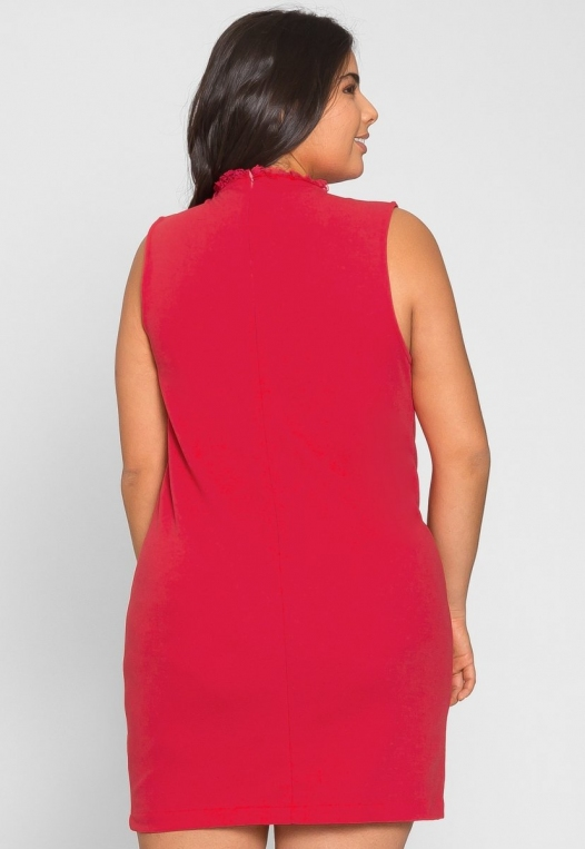 Plus Size Celebration Dress in Red alternate img #4