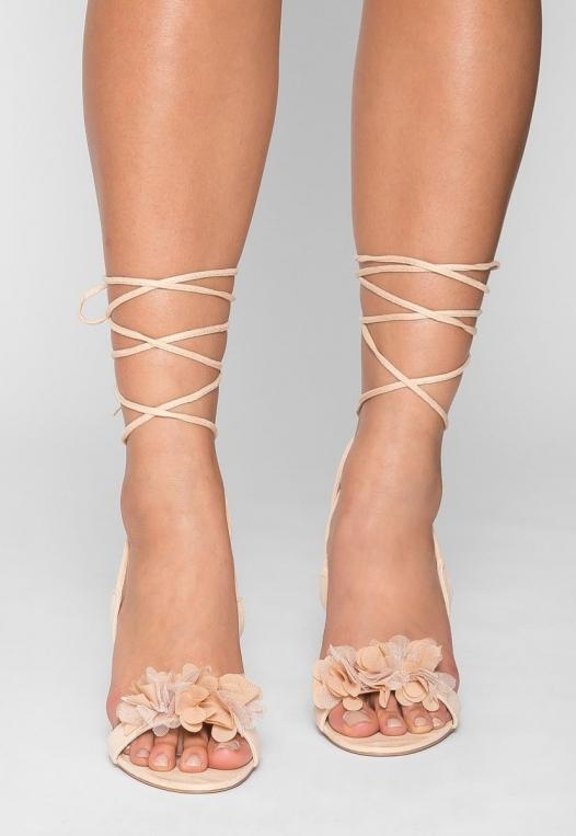 Fiesta Floral Embellished Heels alternate img #2