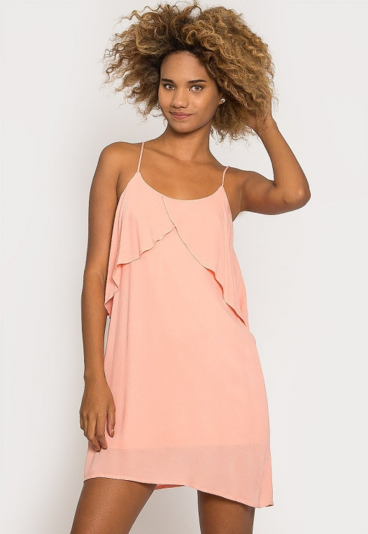Creme Breezy Dress alternate img #1
