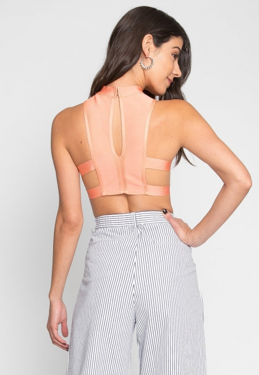 Planned Out Knit Crop Top alternate img #3