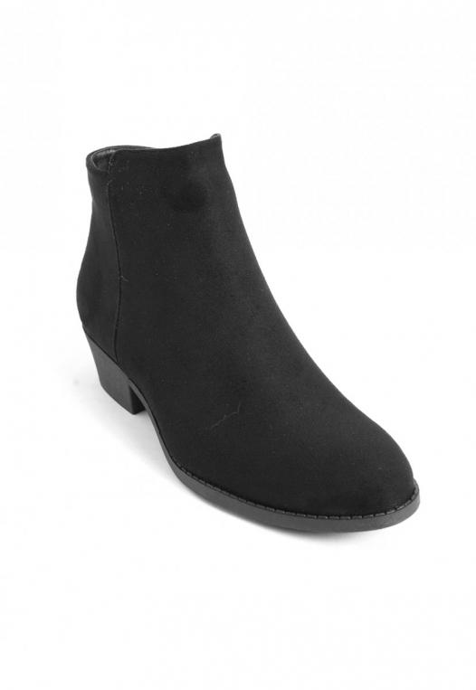 Black Star Ankle Booties in Black alternate img #4