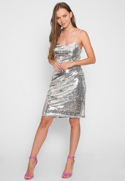 Special Event Sequin Dress alternate img #4