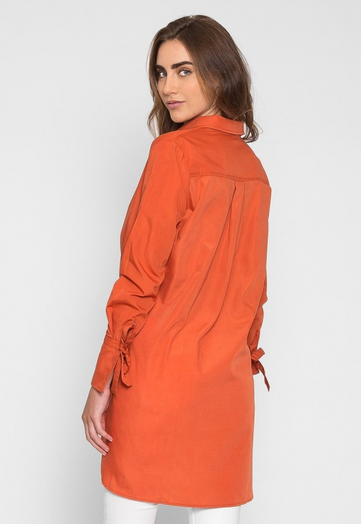Excited High Low Oversized Shirt alternate img #2