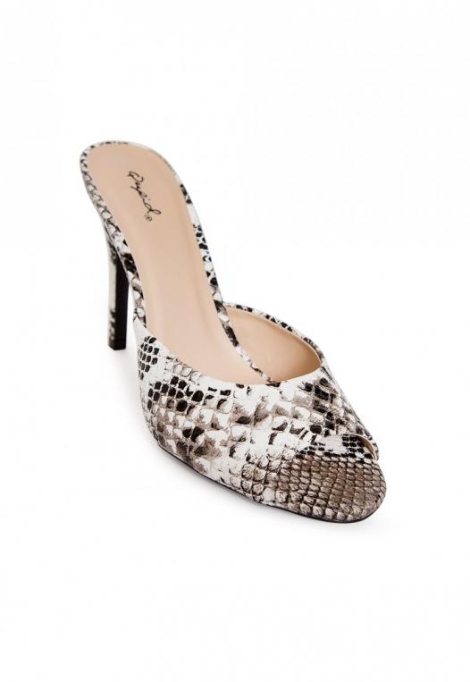 Jealousy Snakeskin Heel Sandals alternate img #4