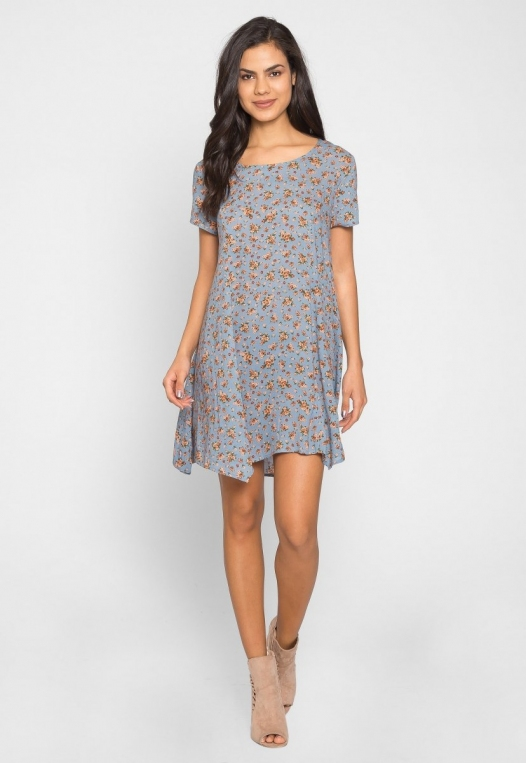 Zoey Floral Tunic Dress alternate img #4