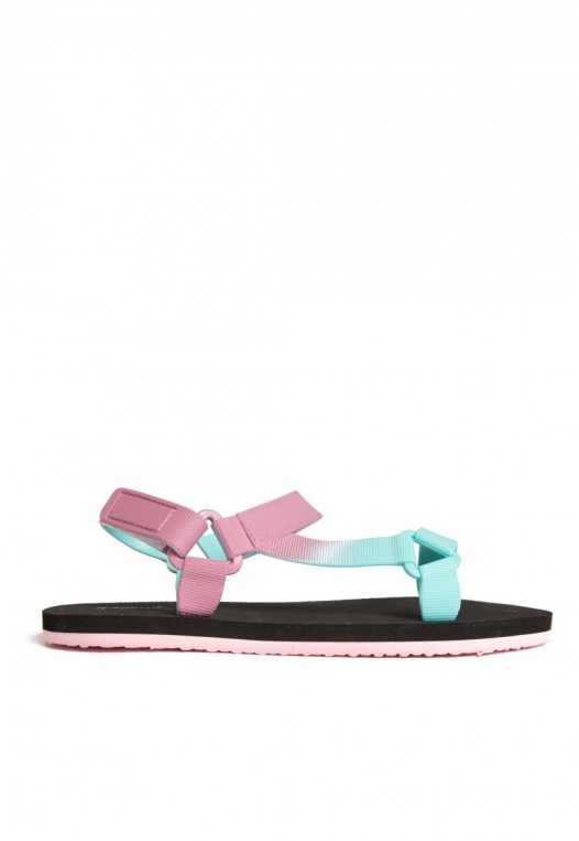 Oceanside Ombre Sandals in Lilac alternate img #1