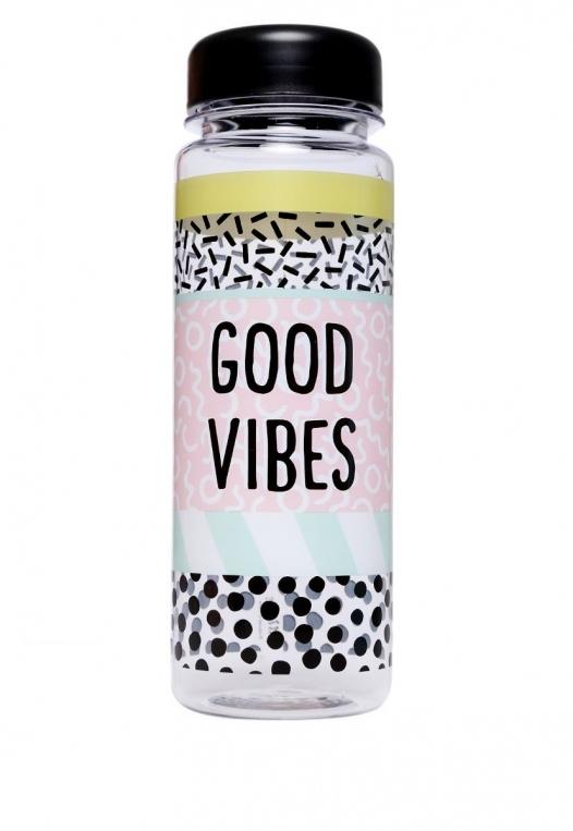 Good Vibes Water Bottle alternate img #1