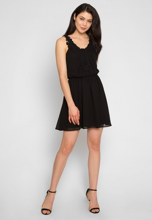 Crazy About You Front Lace Dress alternate img #4