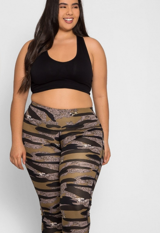 Plus Size Daybreak Active Leggings alternate img #5