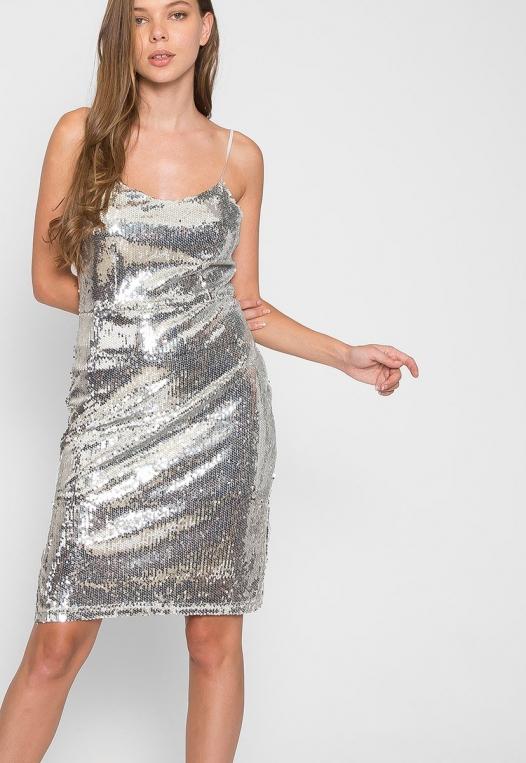 Special Event Sequin Dress alternate img #5
