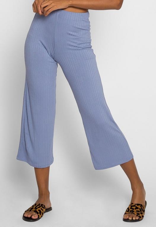 Day In Knit Pants in Light Blue alternate img #3
