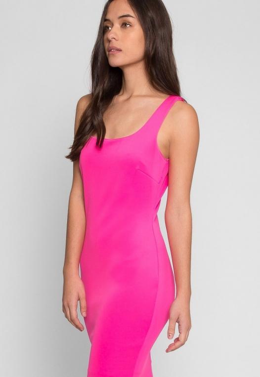 Newport Bodycon Dress in Pink alternate img #1