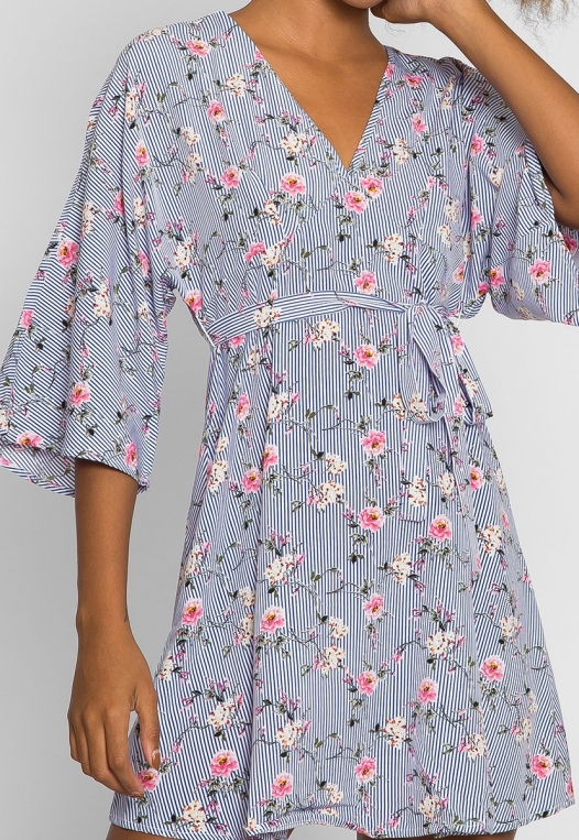 Gardens Kimono Dress alternate img #6