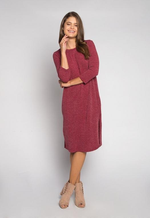 Fashionist Midi Sweater Dress alternate img #4