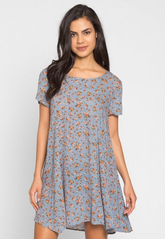 Zoey Floral Tunic Dress alternate img #3
