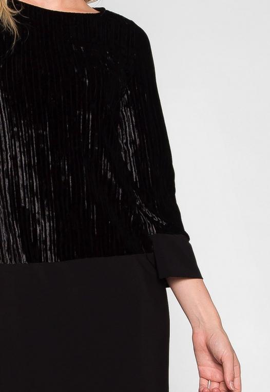 Cool Dance Velvet Top Mini Dress alternate img #6
