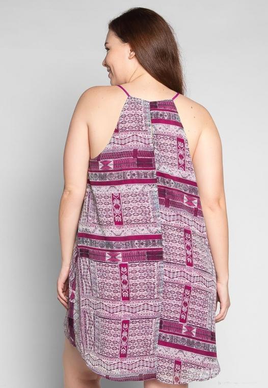 Plus Size California Love Mini Dress alternate img #2