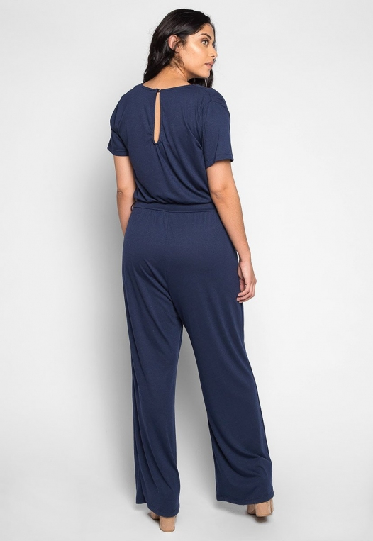 Plus Size Only You V Neck Jumpsuit alternate img #2