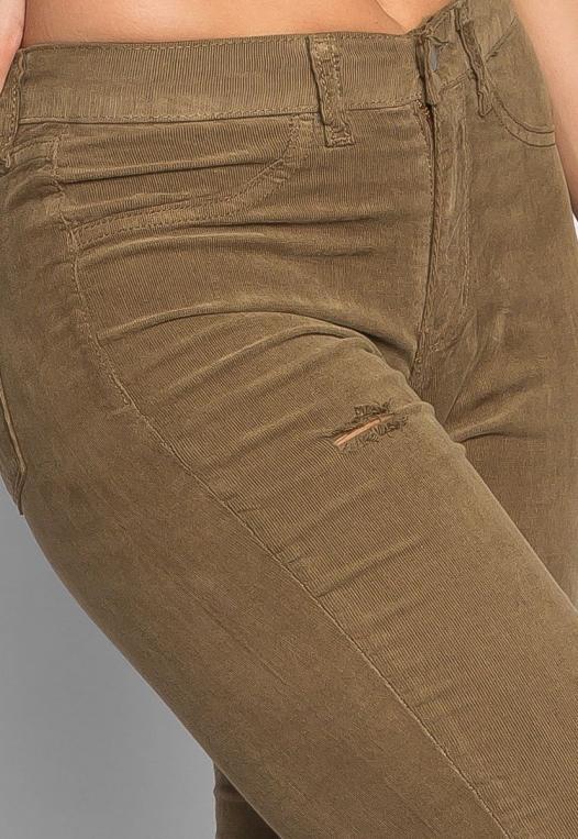 Bonfire Corduroy Pants in Olive alternate img #6