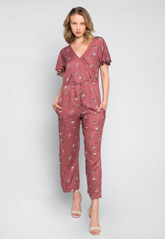 Simple Love Floral Jumpsuit alternate img #4
