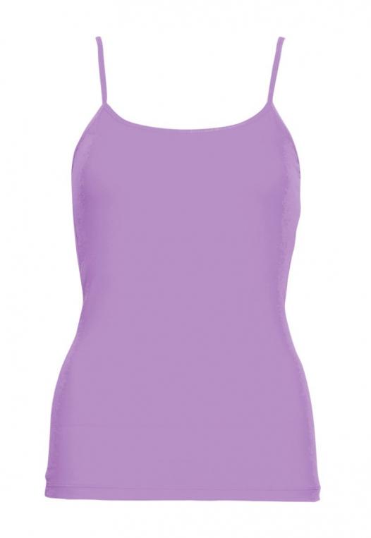 California Basic Cami Top in Lavender alternate img #7