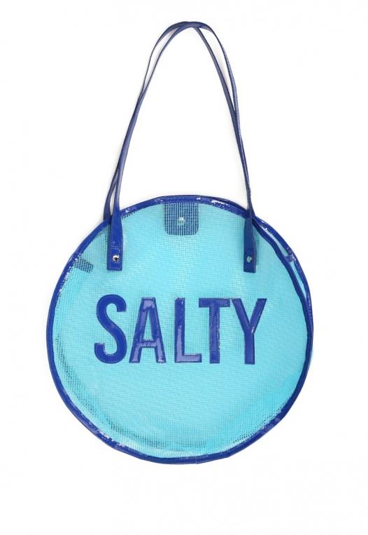 Salty Mesh Beach Tote Bag alternate img #1