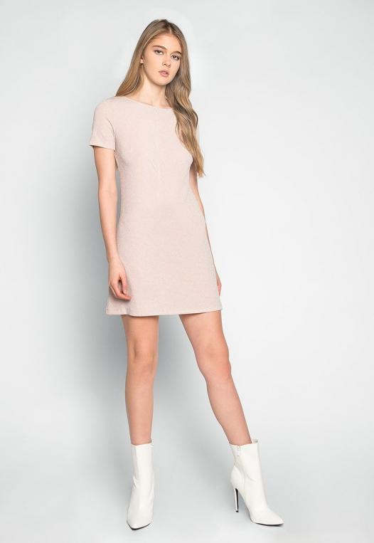 Sakura Glitter Embellished Shift Dress alternate img #4
