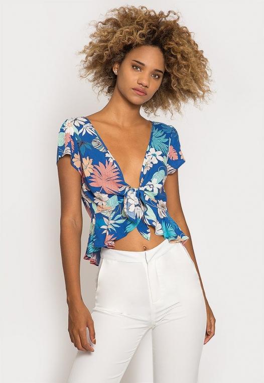 Rami Tropic Floral Blouse alternate img #1