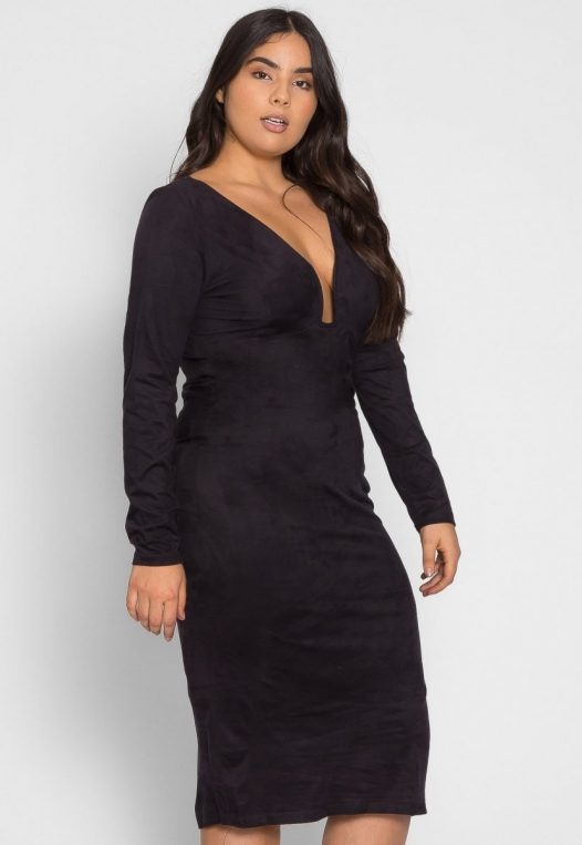 Plus Size After Party Bodycon Dress alternate img #3