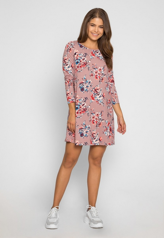 The Promise Floral Printed Dress alternate img #4
