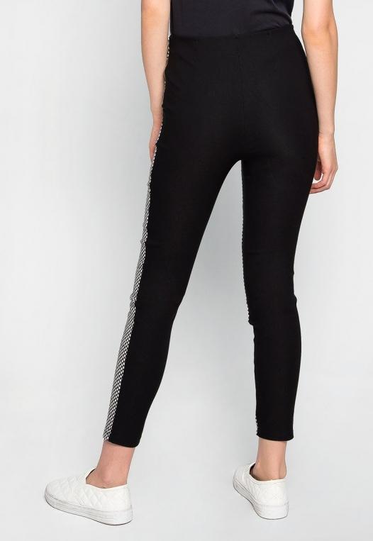 Bad Girl Fishnet Pattern Leggings alternate img #2