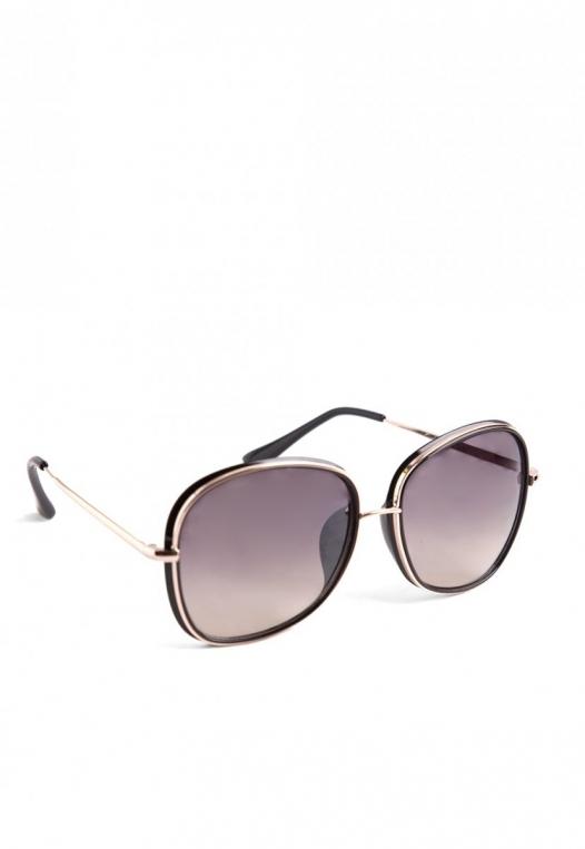 East Side Metal Trim Sunglasses alternate img #3
