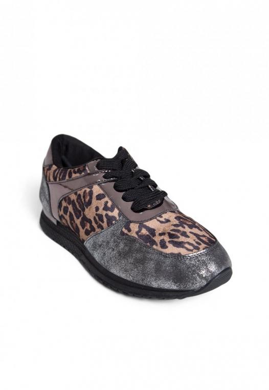Fearless Animal Print Sneakers alternate img #4