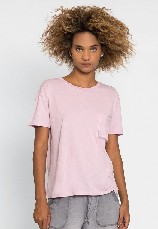 Unity Oversized Tee in Orchid alternate img #1