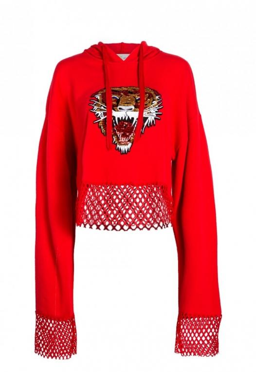 Loud Roar Tiger Hoodie alternate img #7