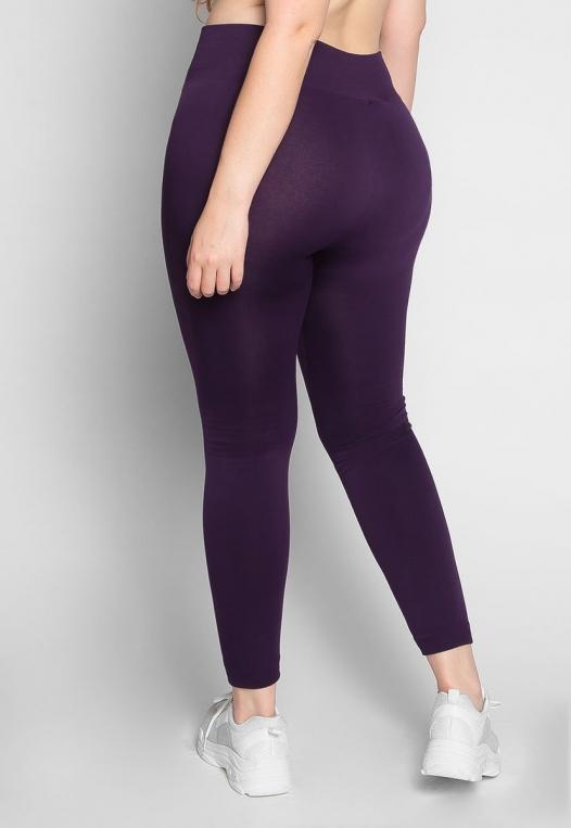 Plus Size Vineyard Fleece Lined Leggings alternate img #2