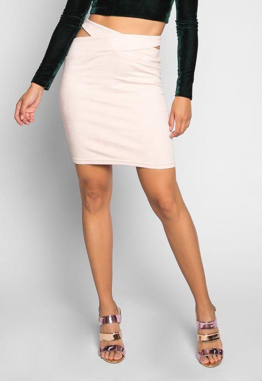 Africa Mini Skirt in Blush alternate img #3